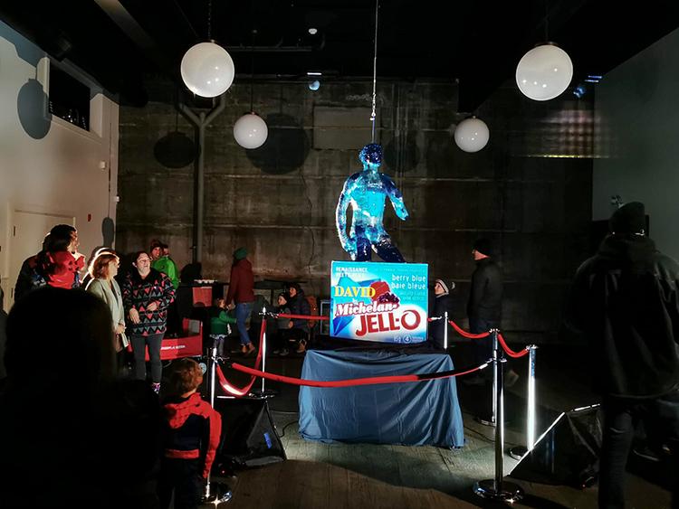 LUNA Art Festival Jello David Michelangelo