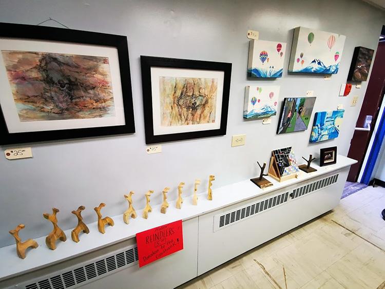 LUNA Art Festival open studio art sale