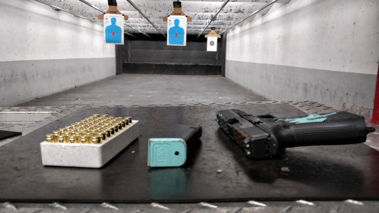 Scotch and shoot gun with ammo