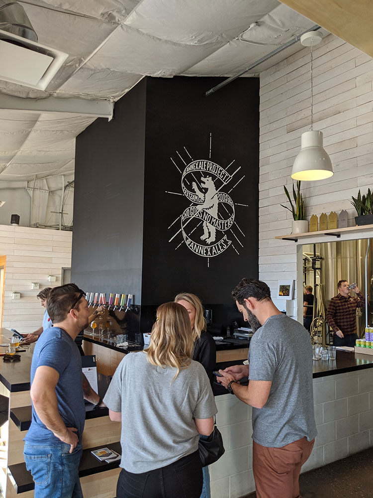 Annex Ale Project taproom