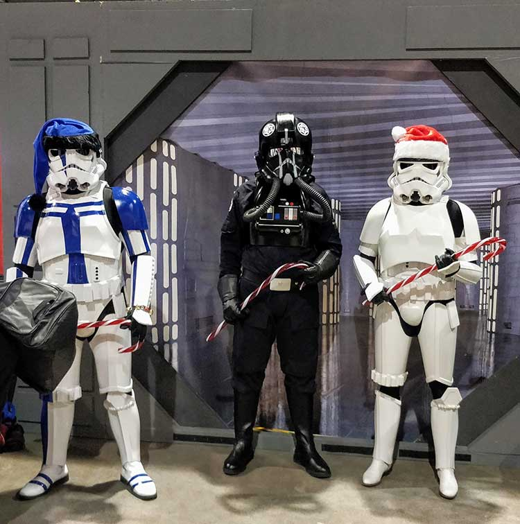Calgary Expo Holiday Market Stormtroopers