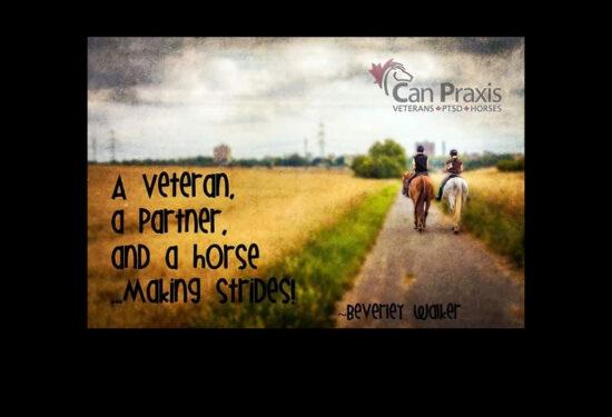 Can Praxis – Veterans • PTSD • Horses