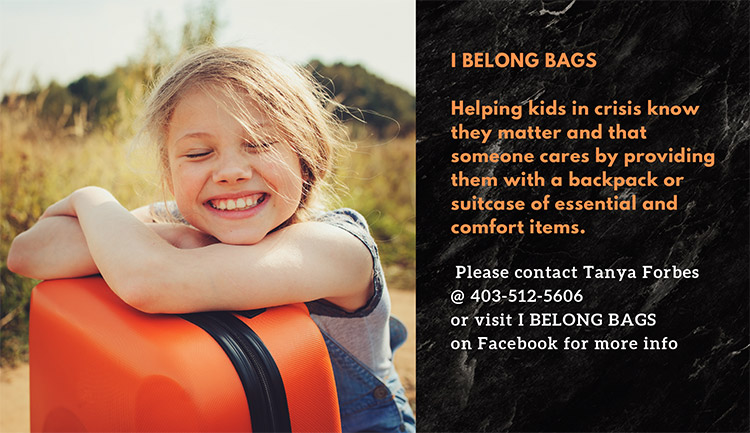 I belong bags contact Tanya Forbes