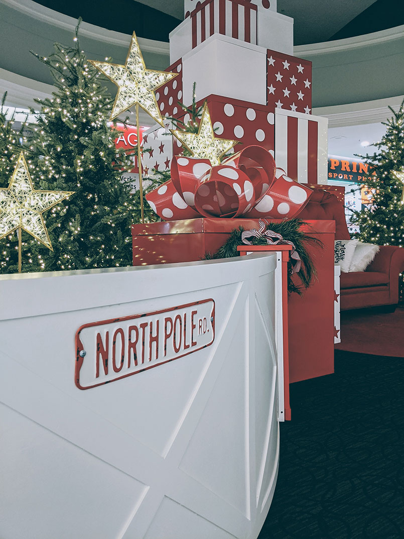 Christmas Westbrook Mall North Pole