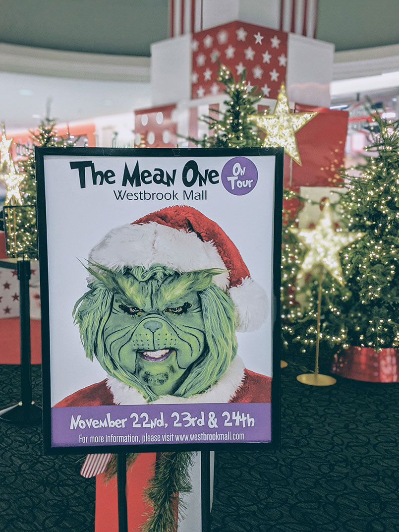 Christmas Westbrook Mall The Mean One