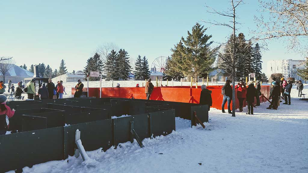 Heritage Park Once Upon A Christmas Maze