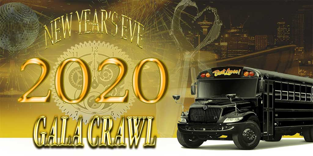Things To do in Calgary for New Years Eve 2020 Bust Loose Gala Crawl