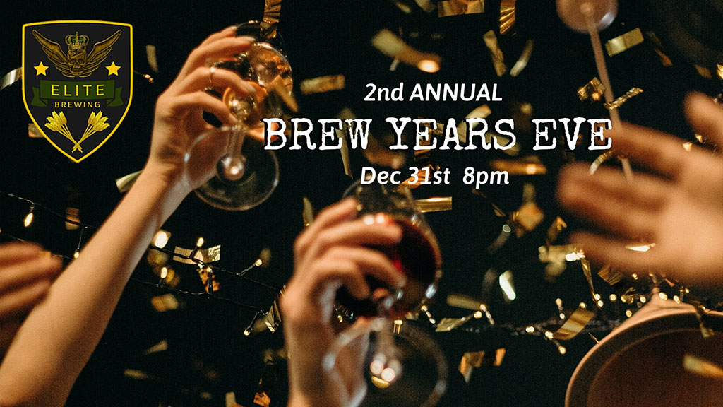 Things To do in Calgary for New Years Eve 2020 Elite Brewing Brew Years Eve