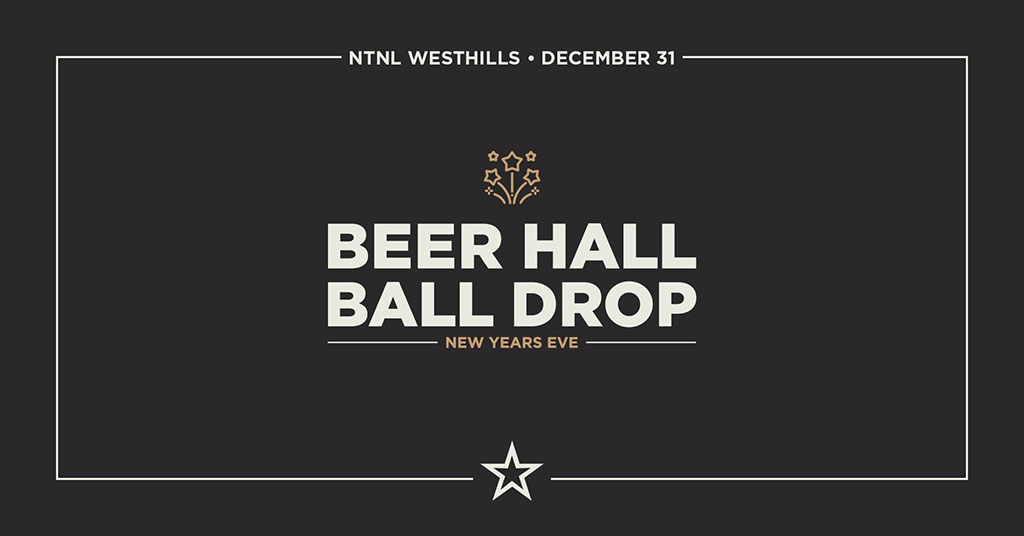 Things To do in Calgary for New Years Eve 2020 NTNL Beer Hall Ball Drop