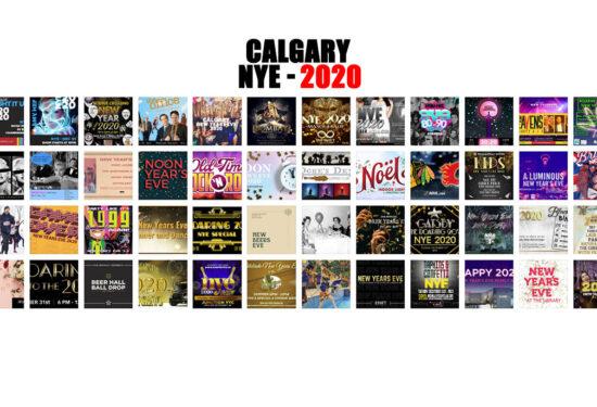 Huge List of Calgary NYE 2020 Events