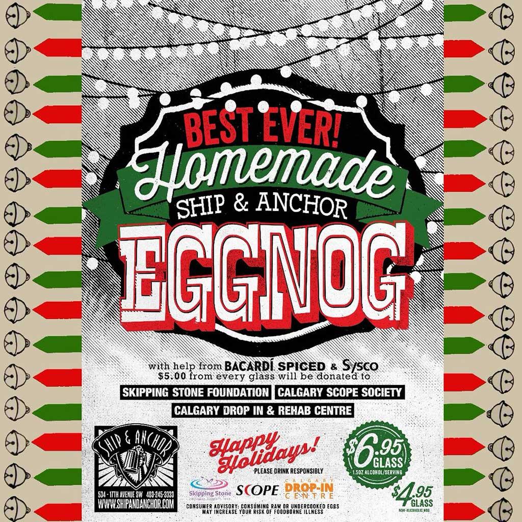 The Ship & Anchor #Shipnog Eggnog
