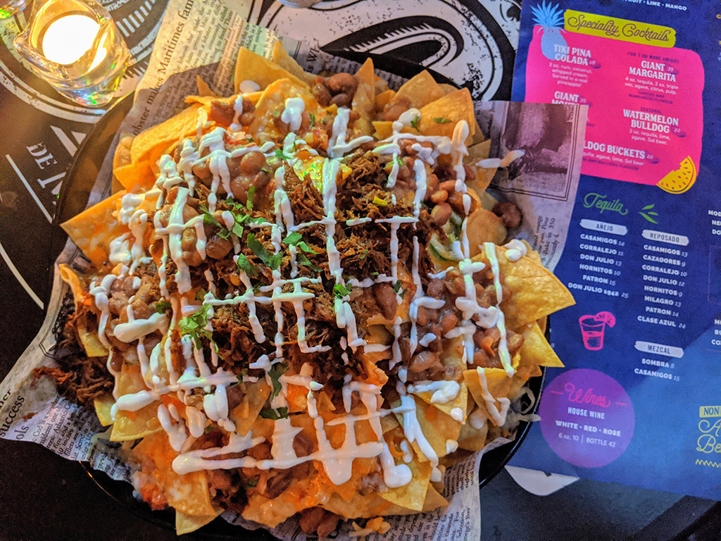 Tropical on 17th Calgary Nachos