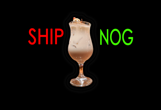 The Ship & Anchor Eggnog – Drinking For Charity!