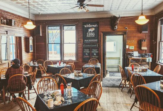 1886 Buffalo Cafe In Eau Claire