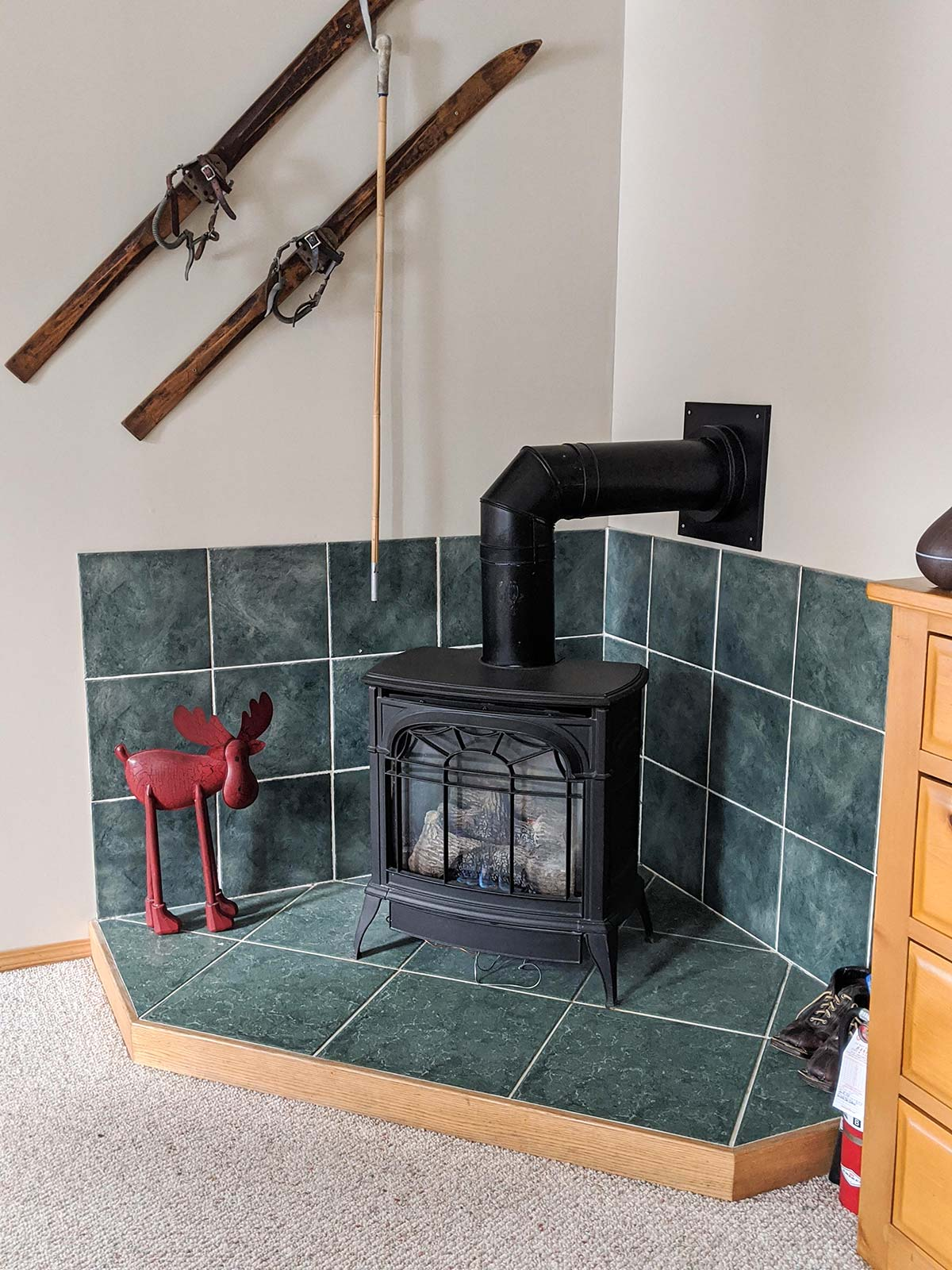 Mount Engadine Lodge propane gas heating
