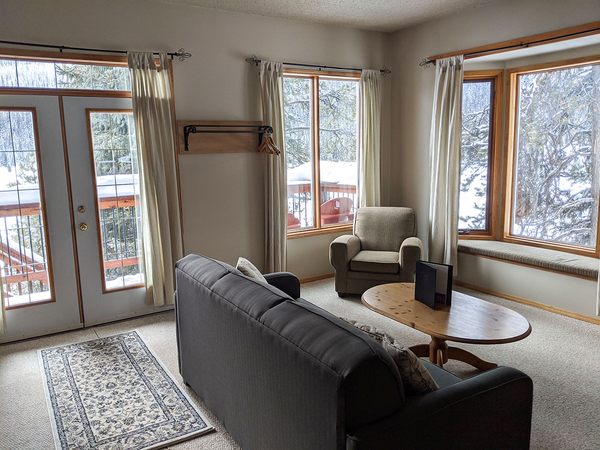 Mount Engadine Lodge cabins for rent