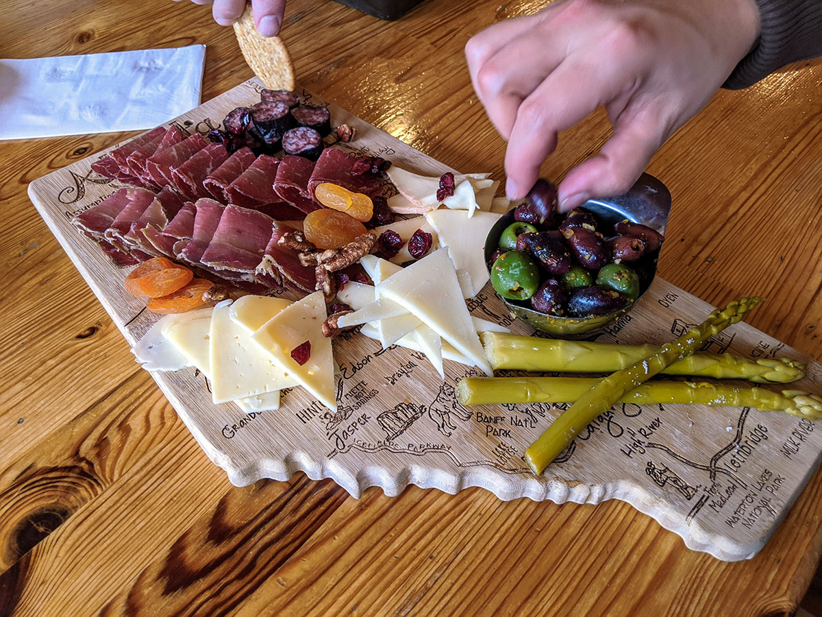 Mount Engadine Lodge Afternoon Tea Charcuterie Board