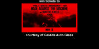 Win Rage Against The Machine Tickets From CalAlta Autoglass