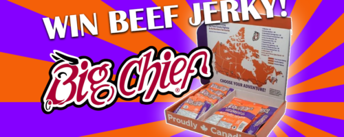 Win A Big Chief Road Trip Box Loaded With Beef Jerky!