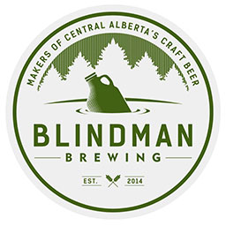 Blindman Brewing in Lacombe, Alberta, Canada