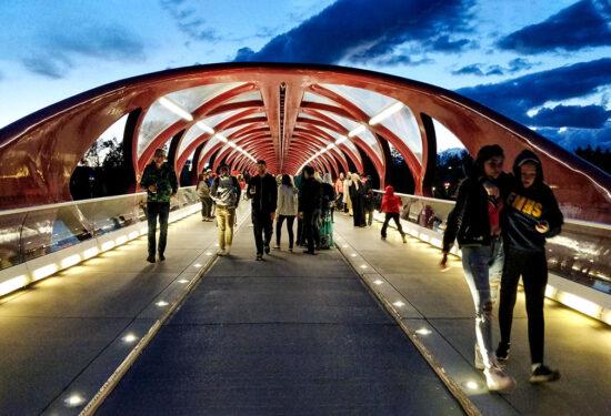 Guide: The Peace Bridge In Calgary, Alberta, Canada