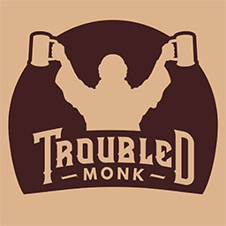 Troubled Monk Brewing In Red Deer, Alberta, Canada
