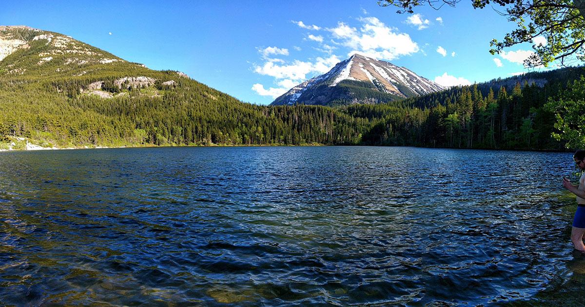 Beginners Guide To Fishing In Alberta, Crandell Lake Waterton National Park