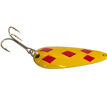 Fishing Guide For Beginners In Alberta, five of diamonds spoon lure