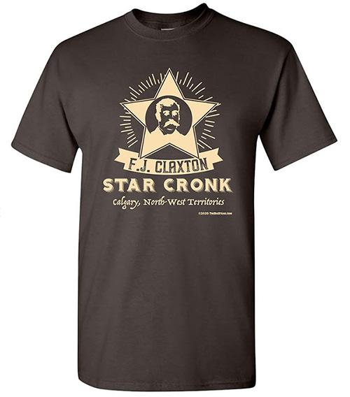 F. J. Claxton Star Cronk t-shirt The Big Steak Calgary
