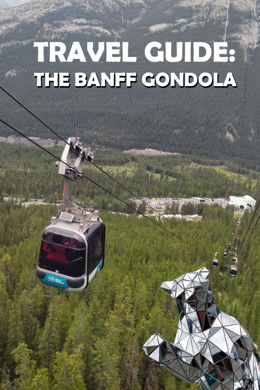 Travel Guide to the Banff Gondola for Pinterest