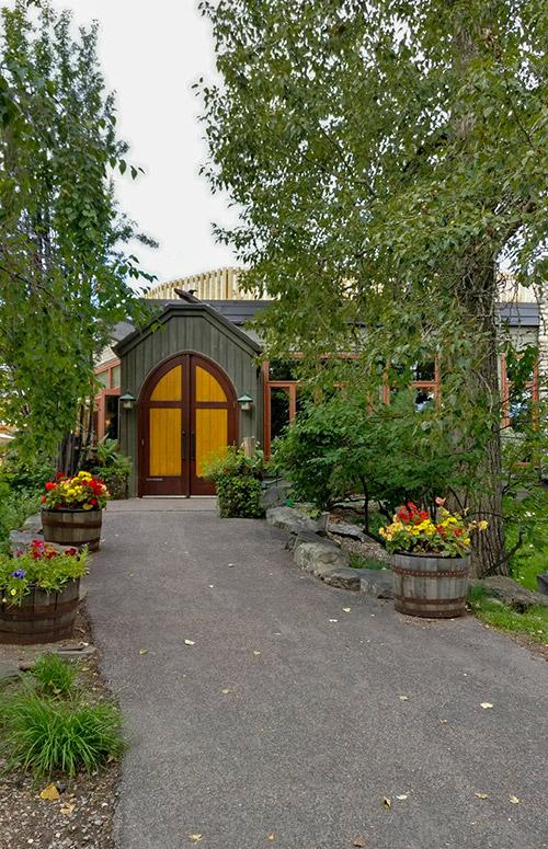 River Café At Prince's Island Park outside main doors