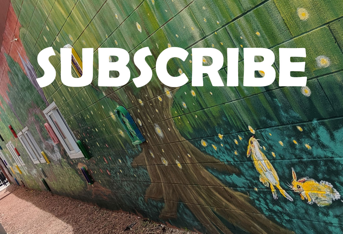 Subscribe to our e-mail list newsletter and blog updates